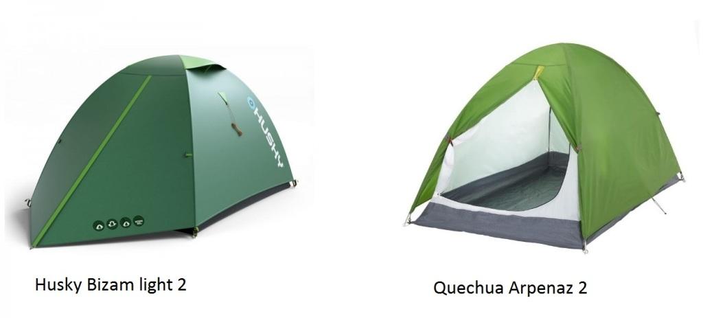 Husky çadır, Decathlon çadır, Arpenaz 2